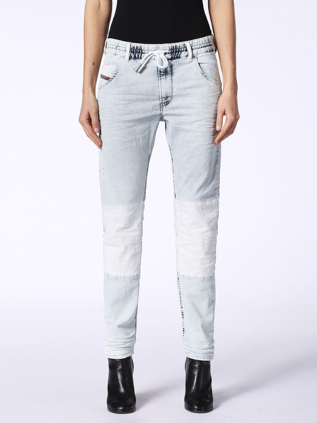 KRAILEY-BK JOGGJEANS 0687B, Light Blue
