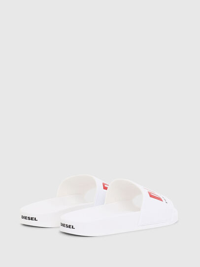 Diesel - SA-VALLA W, White - Slippers - Image 3