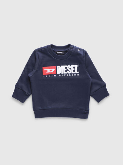 Diesel - SCREWDIVISIONB, Navy Blue - Sweaters - Image 1