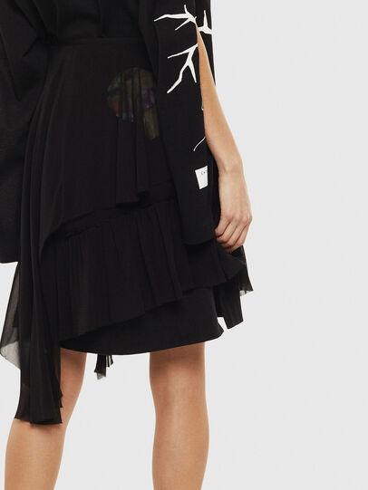Diesel - O-BURNETT, Black - Skirts - Image 2
