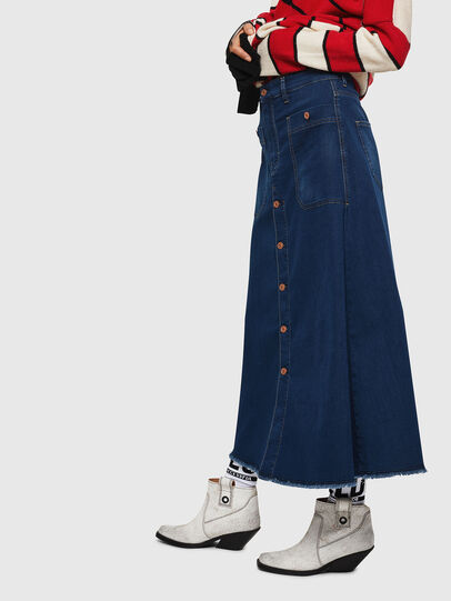 Diesel - D-RHITA JOGGJEANS, Medium blue - Skirts - Image 7