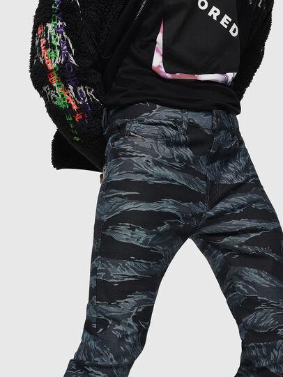 Diesel - D-Amny 0091R, Dark Blue - Jeans - Image 3