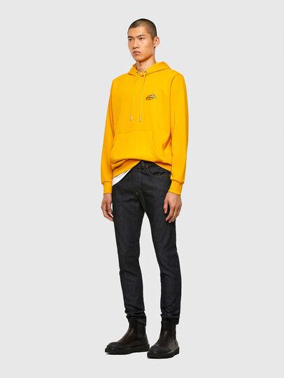 Diesel - S-GIRK-HOOD-K22, Yellow - Sweaters - Image 4