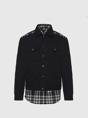 NHILL-C, Black - Denim Jackets