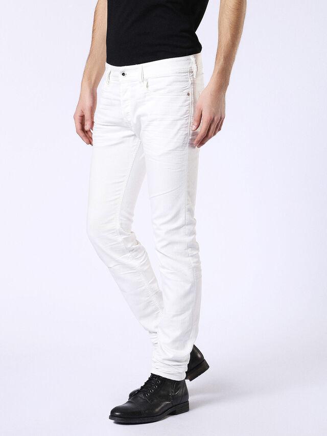 Diesel - Sleenker 084CY, White - Jeans - Image 4