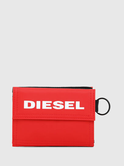 Diesel - YOSHI, Fire Red - Small Wallets - Image 1