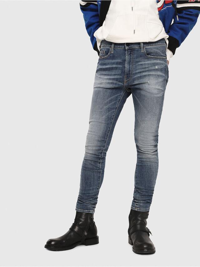 Diesel - D-Amny 086AN, Medium blue - Jeans - Image 1