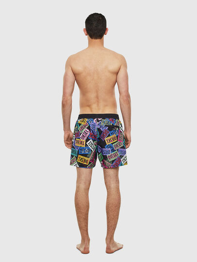 Diesel - BMBX-WAVE 2.017, Multicolor - Swim shorts - Image 2