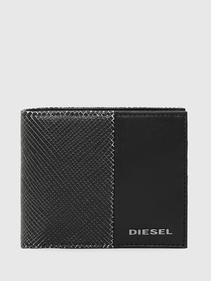 HIRESH S, Black/White - Small Wallets