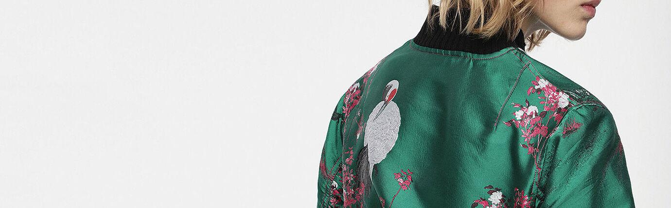 Shop Diesel Women's Leather Jackets