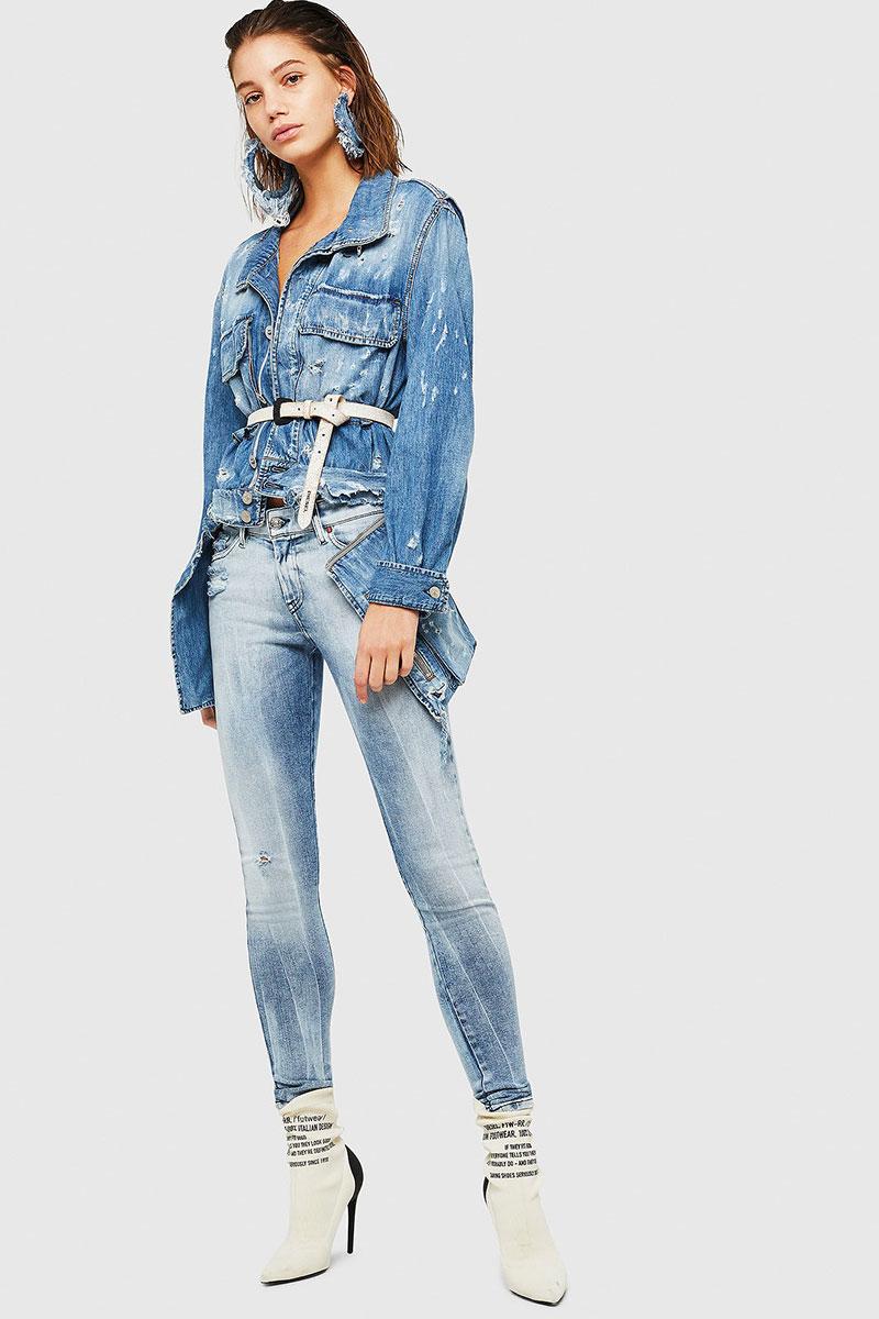 Diesel Jeans Woman Super Skinny