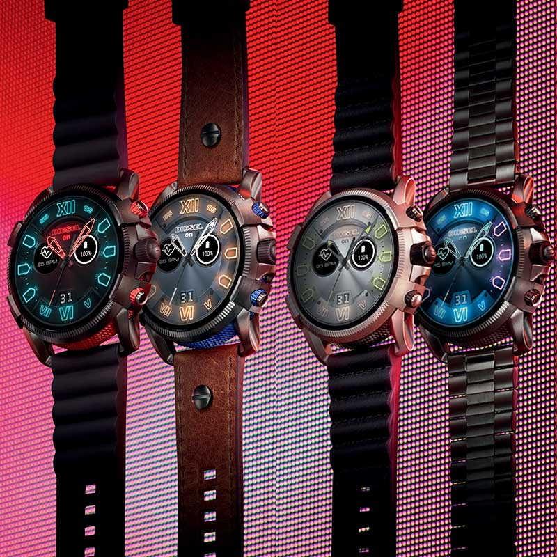 Diesel Smartwatches Functionality INTERCHANGEABLE STRAPS