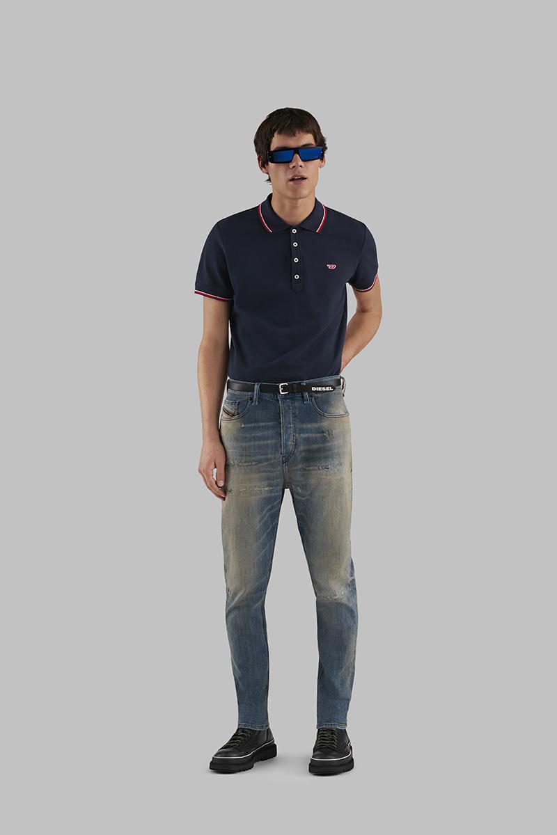 Diesel Carrot Jeans Man