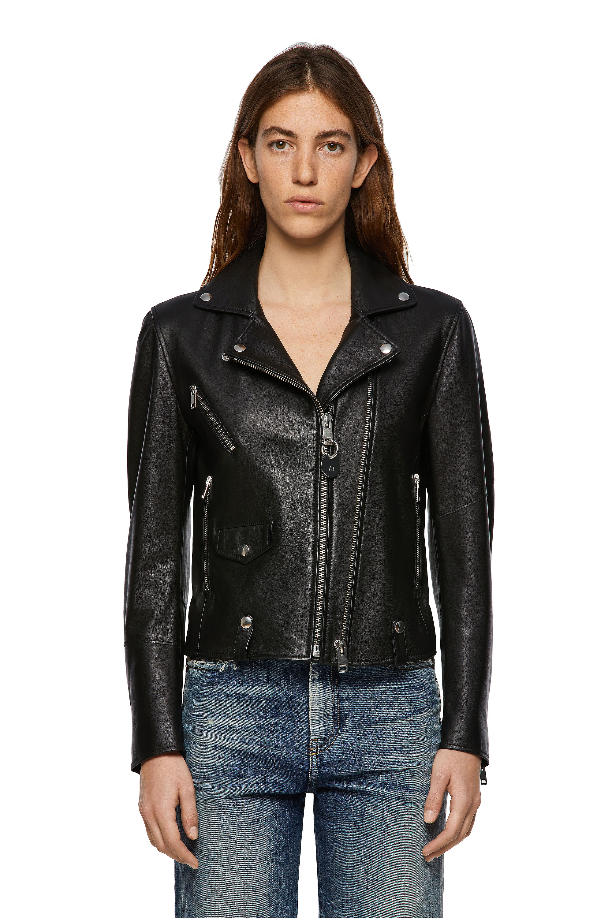 Diesel - L-LYFA,  - Leather jackets - Image 1
