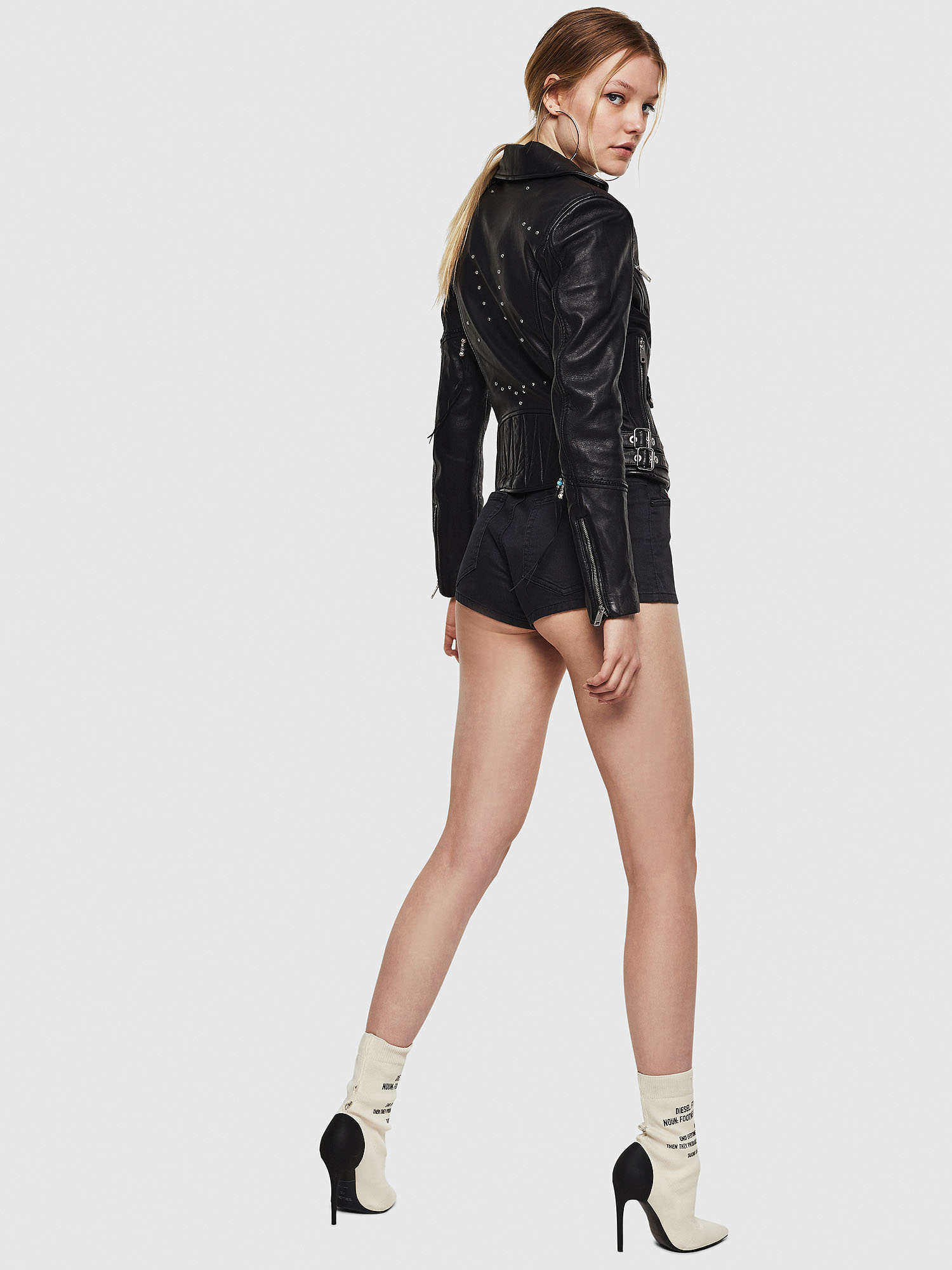 Diesel - L-SINYA-A,  - Leather jackets - Image 6